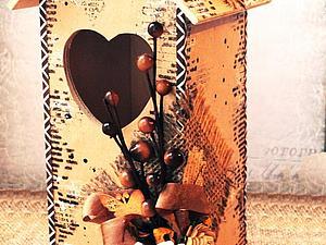 Декор чайного домика: делаем уютное украшение для кухни. Ярмарка Мастеров - ручная работа, handmade.