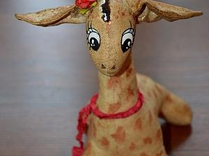 Кофейная Жирафа. Ярмарка Мастеров - ручная работа, handmade.
