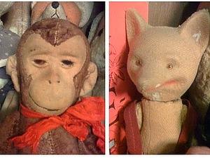 Заяц. Мягко-набивная игрушка по выкройке 1930-40 годов | Ярмарка Мастеров - ручная работа, handmade