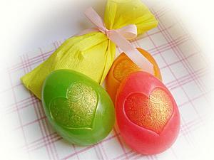 Только в апреле сувенирное пасхальное мыло в подарок! | Ярмарка Мастеров - ручная работа, handmade