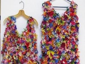 Цветочный карнавал или дизайнерское платье своими руками | Ярмарка Мастеров - ручная работа, handmade