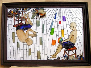 Рисуем на стекле. Ярмарка Мастеров - ручная работа, handmade.