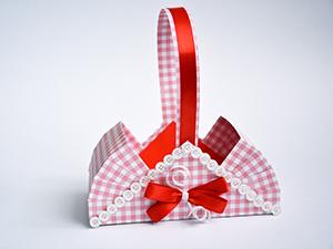 """Мастер-класс: """"Корзинка &#8211&#x3B; подарочная упаковка: 2 варианта"""". Ярмарка Мастеров - ручная работа, handmade."""