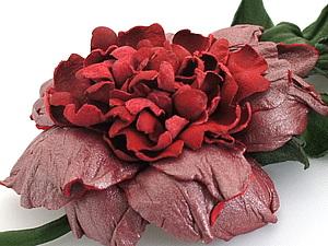Кожаные цветы, МК у Елены Григорьевой   Ярмарка Мастеров - ручная работа, handmade