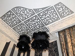 Изготовление абажуров и ажурного потолка в стиле ар-деко. Ярмарка Мастеров - ручная работа, handmade.