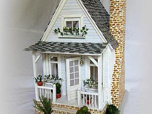 Кукольный домик без мебели | Ярмарка Мастеров - ручная работа, handmade