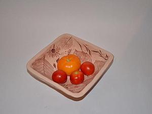 Просто и красиво. Делаем салатник из глины | Ярмарка Мастеров - ручная работа, handmade