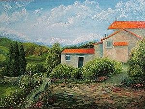 аукцион на итальянский пейзаж))) | Ярмарка Мастеров - ручная работа, handmade