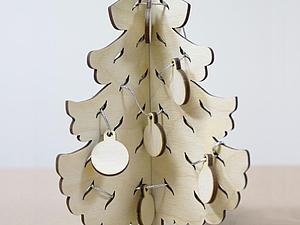 Ёлка Новогодняя по цене 230 рублей | Ярмарка Мастеров - ручная работа, handmade
