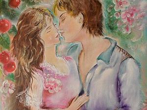 Аукцион!Картина!Весна...Любовь....   Ярмарка Мастеров - ручная работа, handmade
