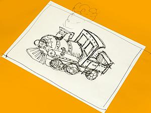 Видео мастер-класс: новогодняя игрушка «Паровозик» в стиле стимпанк. Часть 1. Ярмарка Мастеров - ручная работа, handmade.