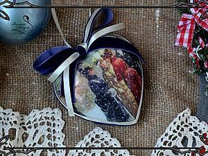 Новогодний подарок: шарик и свеча | Ярмарка Мастеров - ручная работа, handmade