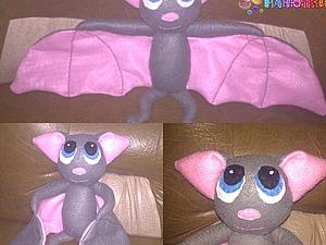 Мастер-класс: игрушка «Летучая мышка» из фетра. Ярмарка Мастеров - ручная работа, handmade.