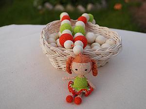 Мастер-класс: вязаная куколка для слингобус. Ярмарка Мастеров - ручная работа, handmade.
