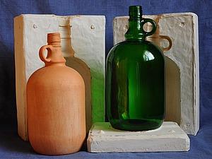 Старинные бутыли. Ярмарка Мастеров - ручная работа, handmade.