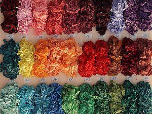 Шебби-ленты - огромная палитра! 100 цветов!   Ярмарка Мастеров - ручная работа, handmade