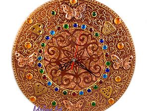 Золото инков - Декор часов | Ярмарка Мастеров - ручная работа, handmade