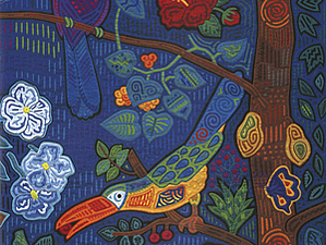Фумико Накаяма (Япония) – «Технология МОЛЫ КУНОВ в квилте» | Ярмарка Мастеров - ручная работа, handmade