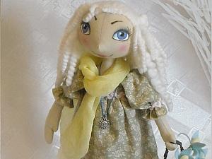Как сшить тыквоголовую куклу - Апрельку-Капельку или девочку Весну.. Ярмарка Мастеров - ручная работа, handmade.