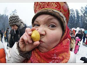МаслЯница. Часть 2: взятие снежного городка   Ярмарка Мастеров - ручная работа, handmade