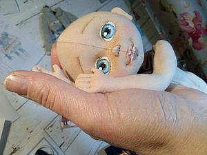Создание личика текстильной куклы | Ярмарка Мастеров - ручная работа, handmade