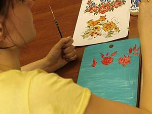 Отчет с мастер-класса по народной художественной росписи | Ярмарка Мастеров - ручная работа, handmade