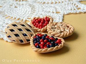 Делаем пироги из полимерной глины. Ярмарка Мастеров - ручная работа, handmade.