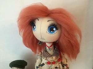 Делаем прическу кукле. Ярмарка Мастеров - ручная работа, handmade.
