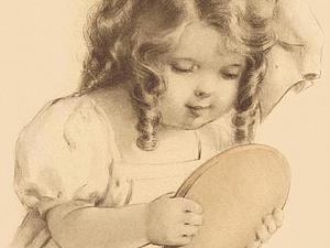Трогательные и нежные детки в иллюстрациях Bessie Pease Gutmann | Ярмарка Мастеров - ручная работа, handmade