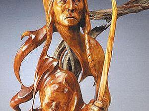 Изящные деревянные скульптуры: корнепластика от J. Christopher White | Ярмарка Мастеров - ручная работа, handmade