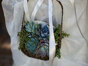 Свадебный букет-сумочка: 13 элегантных модных тенденций 2015 года | Ярмарка Мастеров - ручная работа, handmade
