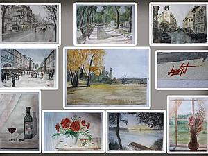 Приглашаю на виртуальную выставку - распродажу картин!!!! | Ярмарка Мастеров - ручная работа, handmade
