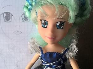 «Будь моей Луной»: создаем новое лицо кукле. Ярмарка Мастеров - ручная работа, handmade.