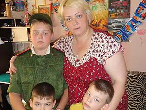 Аукцион для Степы Шеронова - маме троих детей одной не справиться | Ярмарка Мастеров - ручная работа, handmade
