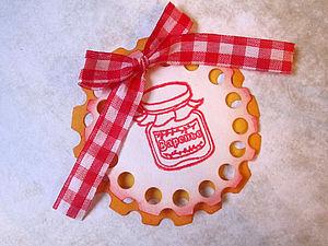 Ажурные круги с помощью обычного компостера | Ярмарка Мастеров - ручная работа, handmade