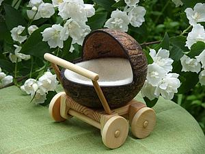 Кукольная коляска | Ярмарка Мастеров - ручная работа, handmade