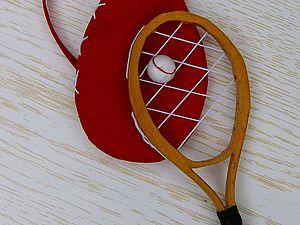 МК «Теннисная ракетка для куклы» | Ярмарка Мастеров - ручная работа, handmade