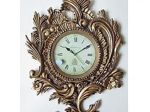 Этапы создания резных часов в стиле рококо | Ярмарка Мастеров - ручная работа, handmade