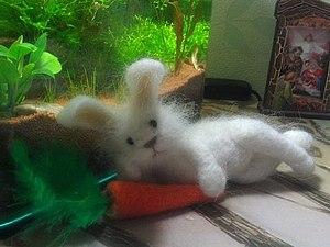 Мастер - класс по валянию зайчика 10 июля. | Ярмарка Мастеров - ручная работа, handmade