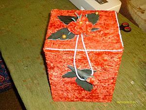 Декорирование коробочки. Ярмарка Мастеров - ручная работа, handmade.