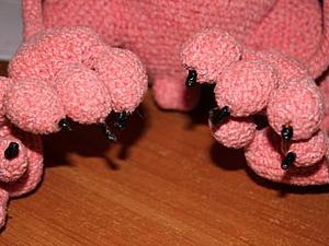 Делаем острые и безопасные коготки для вязаной игрушки. Ярмарка Мастеров - ручная работа, handmade.