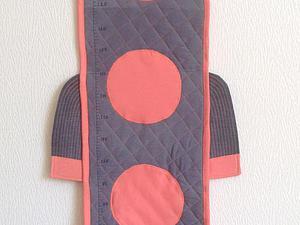 Превращение папиных брюк в ростомер для малыша. Ярмарка Мастеров - ручная работа, handmade.