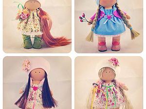 Мастер класс по шитью куколки | Ярмарка Мастеров - ручная работа, handmade