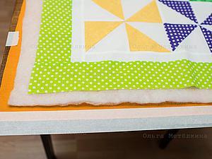Шьем детское лоскутное одеяло для начинающих. Часть 3. Сборка одеяла. Ярмарка Мастеров - ручная работа, handmade.