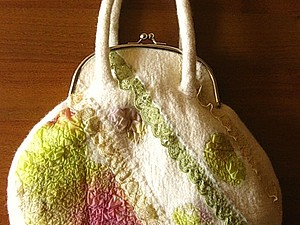 Приглашаю на мастер-класс по валянию сумок-ридикюлей | Ярмарка Мастеров - ручная работа, handmade