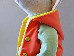 Шьём жилет с капюшоном для игрушки за 1 час. Ярмарка Мастеров - ручная работа, handmade.