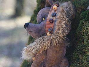 Лис и Волк на природе | Ярмарка Мастеров - ручная работа, handmade