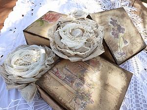 Коробочки для брошей | Ярмарка Мастеров - ручная работа, handmade