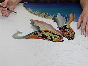 Мастер- класс по Батику. | Ярмарка Мастеров - ручная работа, handmade
