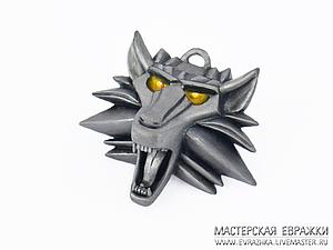 Лепим ведьмачий медальон из полимерной глины | Ярмарка Мастеров - ручная работа, handmade
